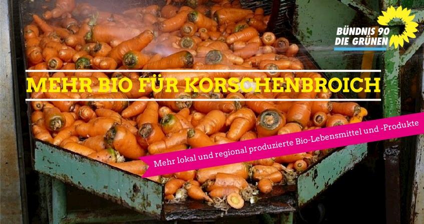 Mehr lokal und regional produzierte Bio-Lebensmittel und -Produkte