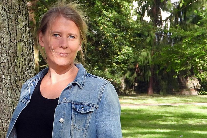 Frischluftschneisen, Begrünungskonzepte und Gemeinschaftsgärten: Tanja Hannemann will mehr Grün für Korschenbroich
